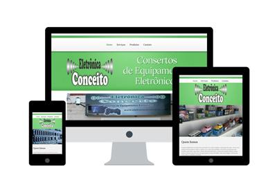 Projeto Eletrônica Conceito - DAS Freelancer Desenvolvedor Web