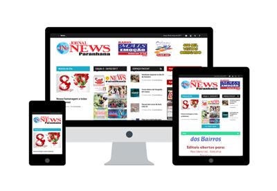 Projeto Jornal News Paranhana - DAS Freelancer Desenvolvedor Web